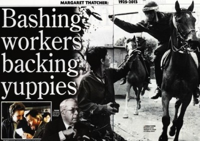 Thatcherism's influence on reporting the world of work
