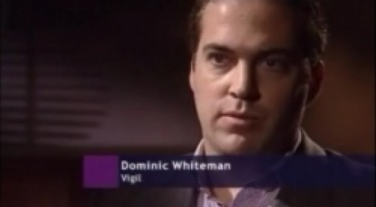 Dominic Whiteman of Vigil, as he appeared on BBC Newsnight